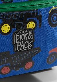 pick & PACK - TRACTOR MINI BACKPACK - Rucksack - blue - 6