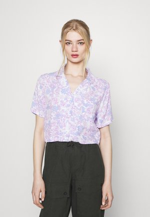 CROPPED SUMMER - T-shirt med print - lilac
