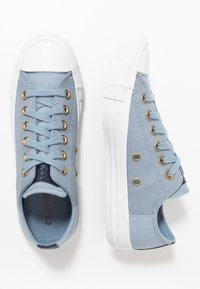 Converse - CHUCK TAYLOR ALL STAR - Trainers - blue slate/obsidian/white - 1