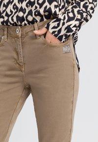 Marc Aurel - Slim fit jeans - taupe varied - 3