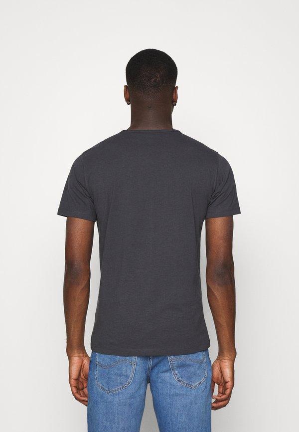 Lee T-shirt basic - washed black/czarny Odzież Męska NKQA