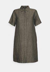 Opus - WELIKA - Shirt dress - black - 4