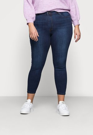ADRIANA HIGH SKINNY  - Jeans Skinny Fit - deep blue