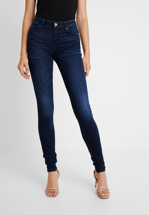 ONLIRIS PUSH UP - Jeans Skinny Fit - dark blue denim
