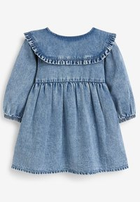 Next - Denim dress - blue denim - 1