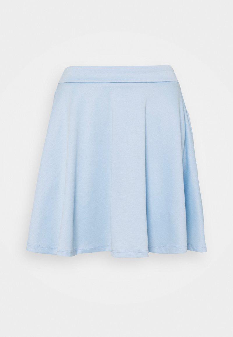 Vila - VITINNY FLARED SKIRT - Miniskjørt - cashmere blue