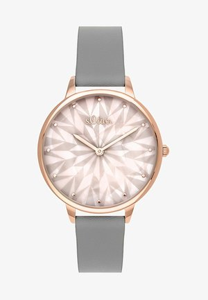 Watch - gray/rose gold