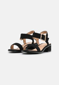Simply Be - WIDE FIT BERGERAC - Sandals - black - 2