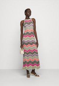 M Missoni - ABITO LUNGO SENZA MANICHE - Jumper dress - multi coloured - 1