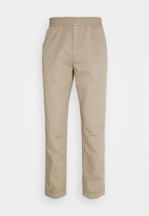 TERRY TROUSER - Trousers - desert tau