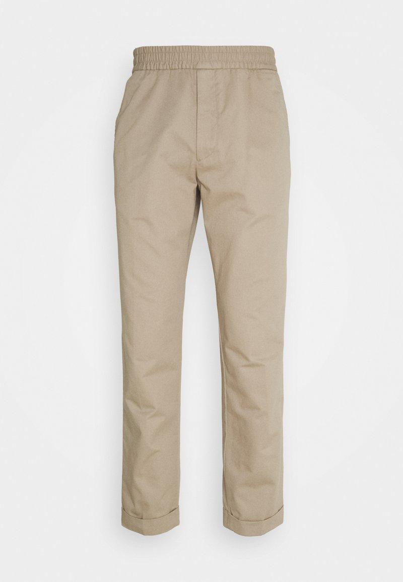 Filippa K - TERRY TROUSER - Trousers - desert tau