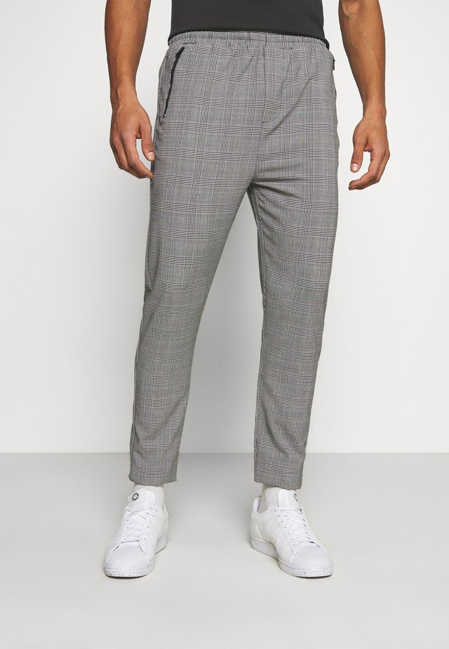 SUIT CHECK PANT - Pantaloni - grey
