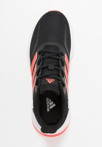 adidas Performance - RUNFALCON UNISEX - Neutral running shoes - core black/signal pink/footwear white - 1