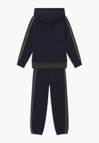 Champion - LEGACY HOODED FULL ZIP SUIT SET - Tracksuit - dark blue - 1