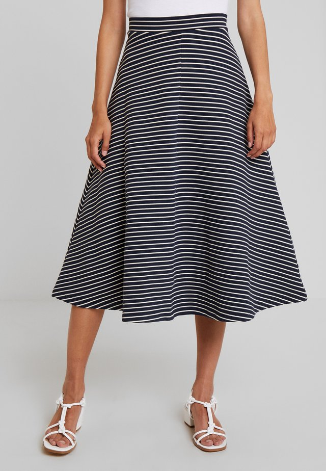 GET THE PARTY STARTED - A-line skirt - navy