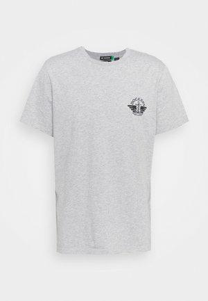 LOGO TEE - T-shirt con stampa - gray heather