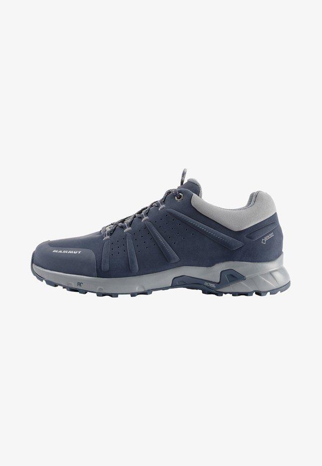 CONVEY LOW GTX - Obuwie hikingowe - marine/grey