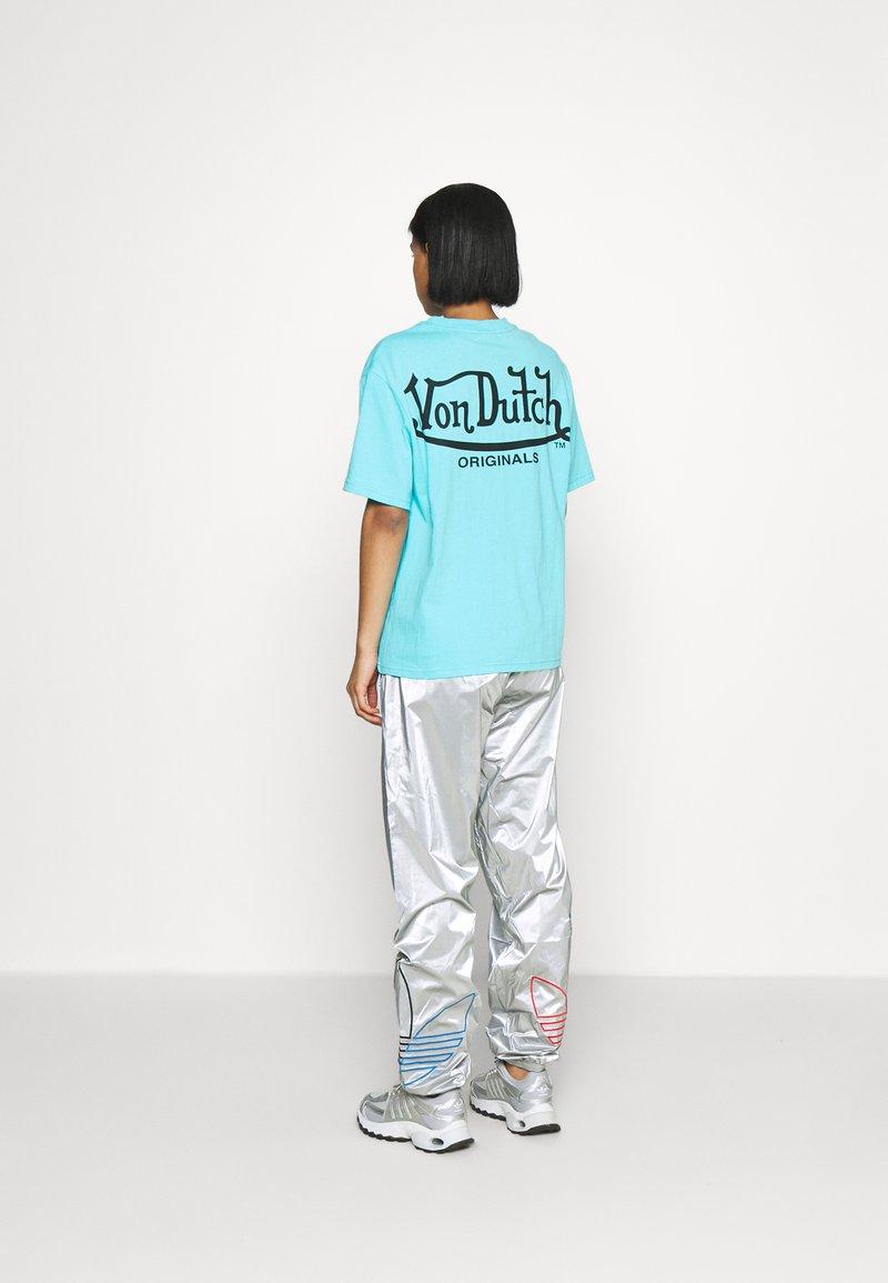 Von Dutch - ARI - Print T-shirt - blue