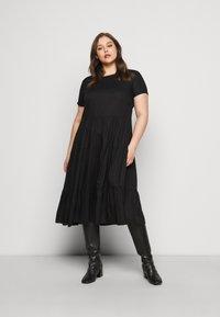 ONLY Carmakoma - CARFABULOUS DRESS  - Day dress - black - 0