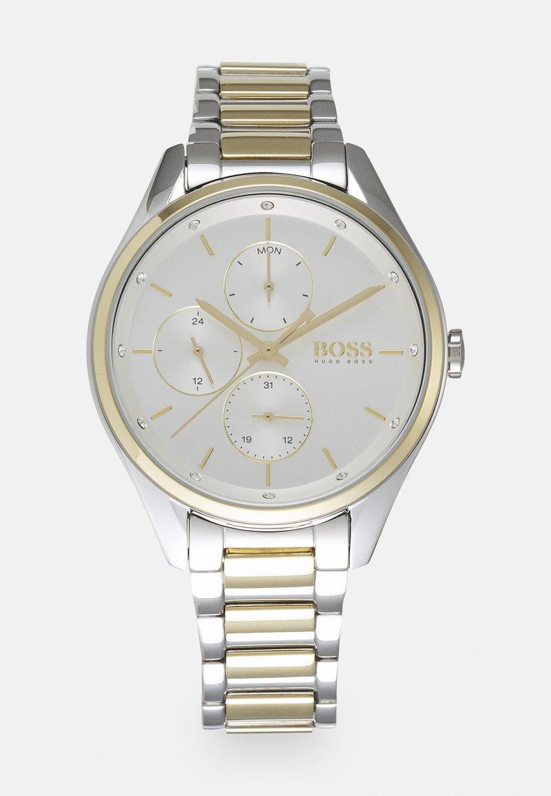 BOSS - GRAND COURSE - Horloge - silver-coloured/white