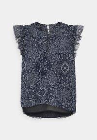 Pepe Jeans - LETIZIAS - T-shirt med print - dark blue - 0