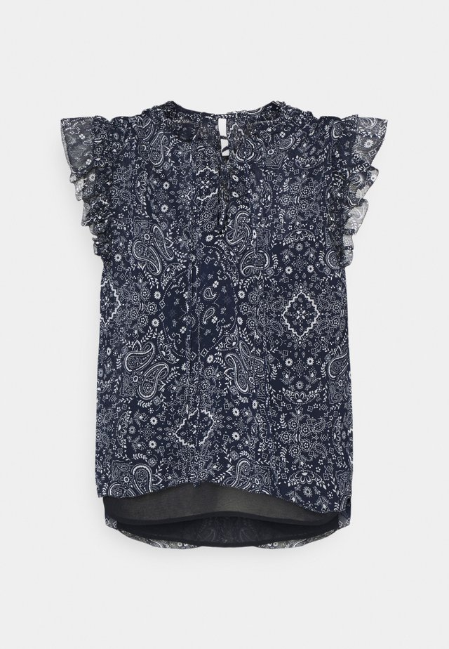 LETIZIAS - T-shirt imprimé - dark blue