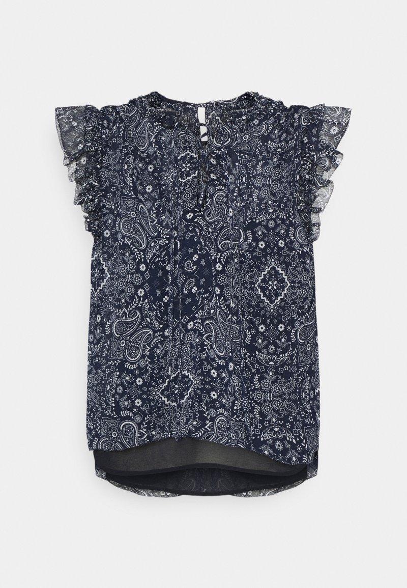 Pepe Jeans - LETIZIAS - T-shirt med print - dark blue