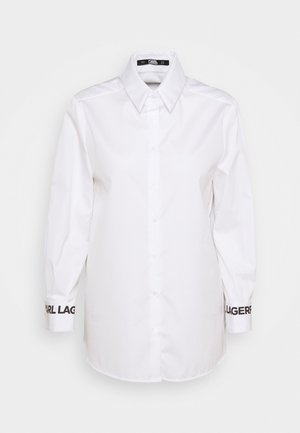 KARL COLLAR - Button-down blouse - white