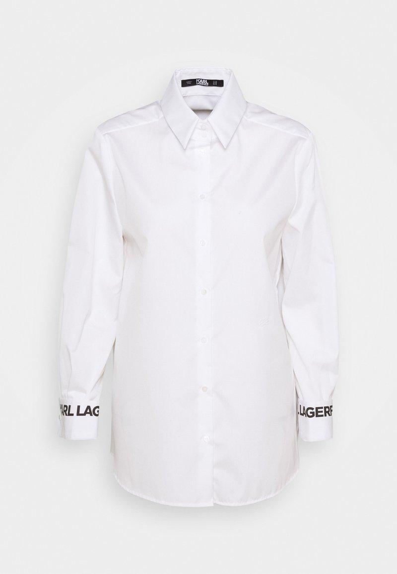 KARL LAGERFELD - KARL COLLAR - Button-down blouse - white