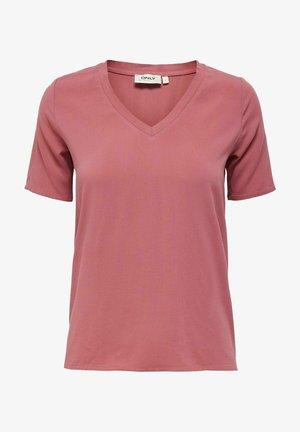 T-shirt basic - mauvewood