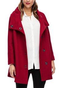 Triangle - Short coat - dark red - 3