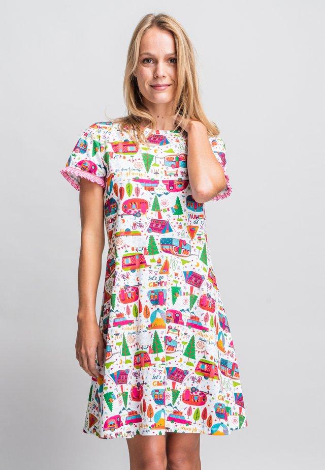 Korte jurk - multi coloured