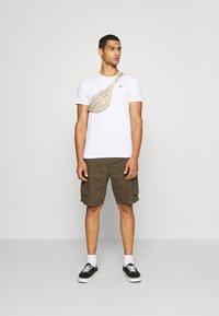 Hollister Co. - SEASONAL CREW 3 PACK  - T-shirt med print - blue - 0