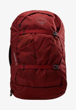 FARPOINT - Mochila de trekking - jasper red