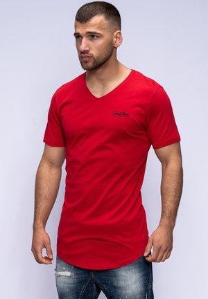 NEWRAR  - Basic T-shirt - tango red