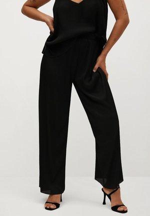KENNER - Trousers - schwarz