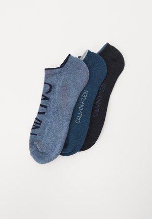 MENS NO SHOW ATHLEISURE GRANT 3 PACK - Socks - blue/light blue
