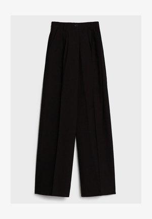 MIT WEITEM BEIN - Trousers - black
