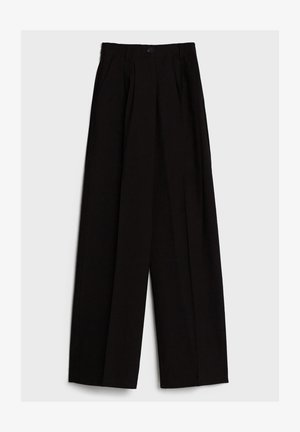MIT WEITEM BEIN - Pantaloni - black