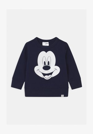 TODDLER BOY MICKEY MOUSE CREW - Sweatshirt - tapestry navy