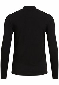 Vila - VIBULIS ZEBRA FUNNELNECK - Long sleeved top - black - 5