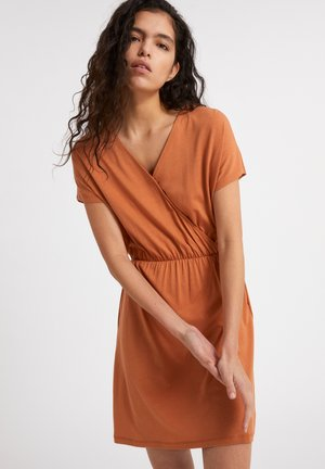 LAAVI - Jersey dress - toasted hazel