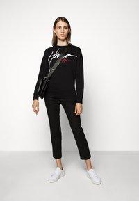 HUGO - NACINIA - Sweatshirt - black - 1