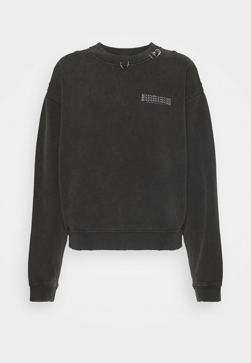 The Kooples - Sweatshirt - black washed
