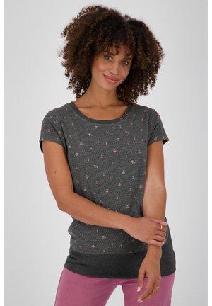 Print T-shirt - moonless