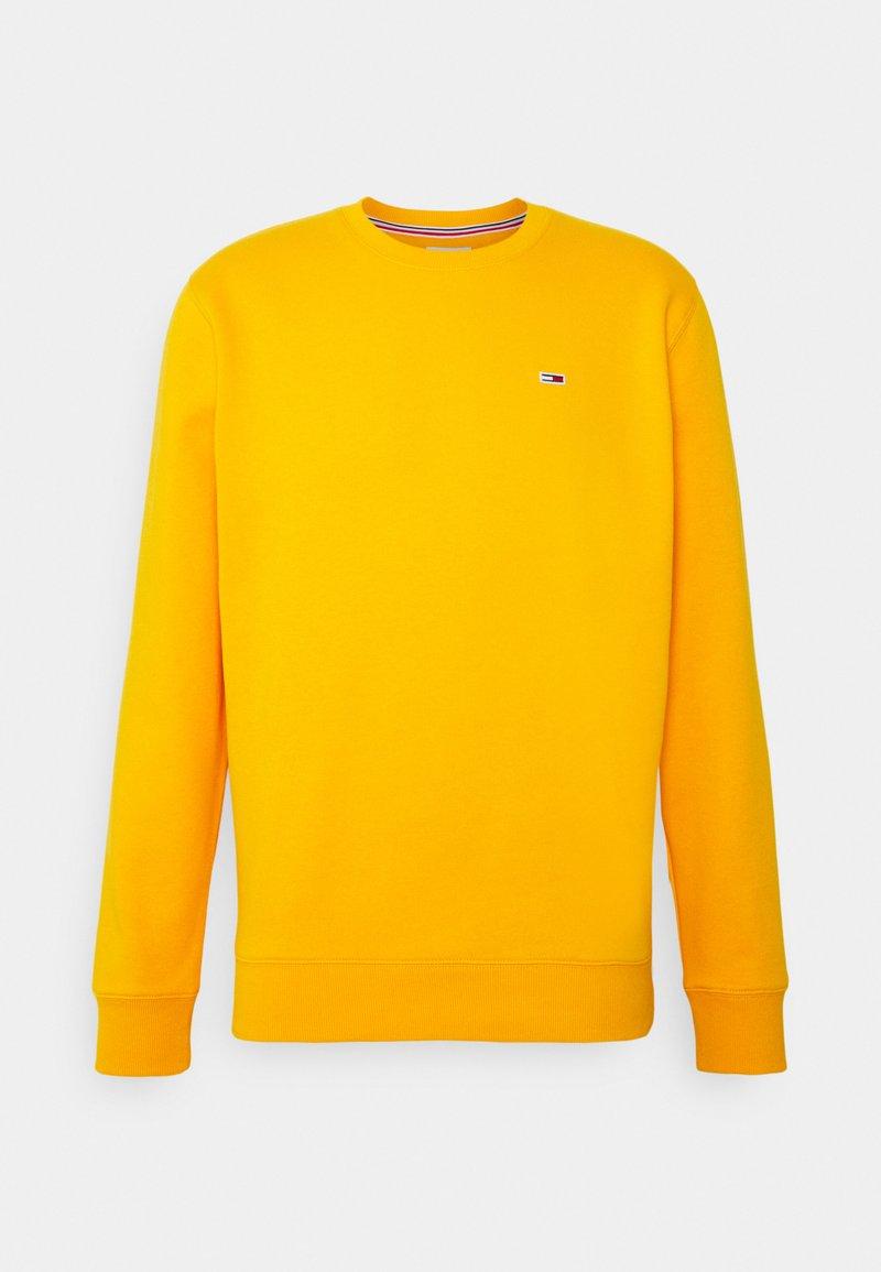 Tommy Jeans - REGULAR C NECK - Collegepaita - florida orange