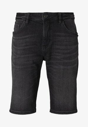 Shorts di jeans - clean dark stone grey denim