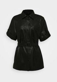 KARL LAGERFELD - CARGO - Button-down blouse - black - 4