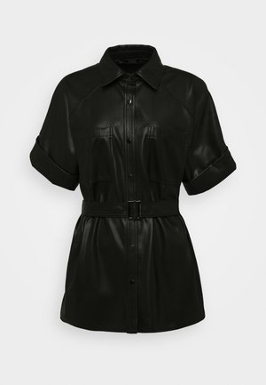 CARGO - Button-down blouse - black