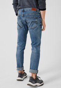 Q/S designed by - RICK SLIM - Slim fit jeans - blue denim stone - 2